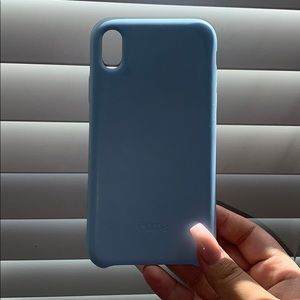 iPhone XR baby blue case
